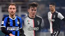 10 cầu thủ đắt giá nhất Serie A: Eriksen bỏ xa Ronaldo