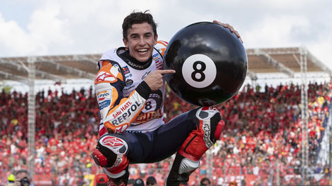 Mới 26 tuổi, nhưng Marquez đã có 8 danh hiệu cá nhân