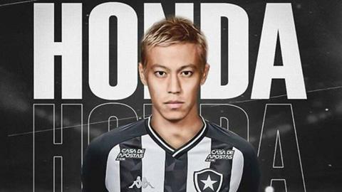 Keisuke Honda cài điều khoản siêu dị vào hợp đồng với Botafogo