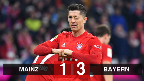 Mainz 05 vs Bayern Munich highlights, 01/02/2020