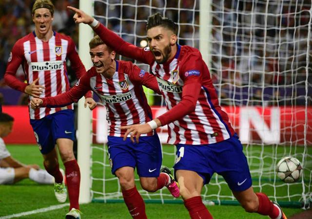 Carrasco trong thời gian đầu tiên khoác áo Atletico