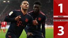 Mainz 1-3 Bayern Munich(Vòng 20 Bundesliga 2019/20)
