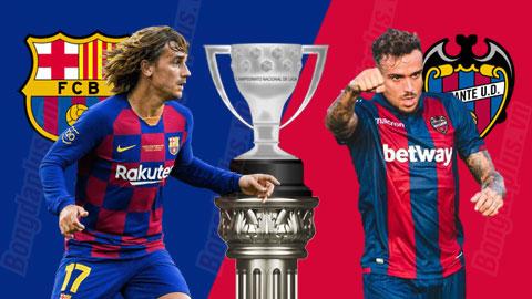 Nhận định bóng đá Barca vs Levante, 3h00 ngày 3/2: Mở tiệc ở Nou Camp