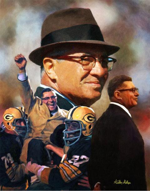 Vince Lombardi là HLV vĩ đại trong lịch sử NFL