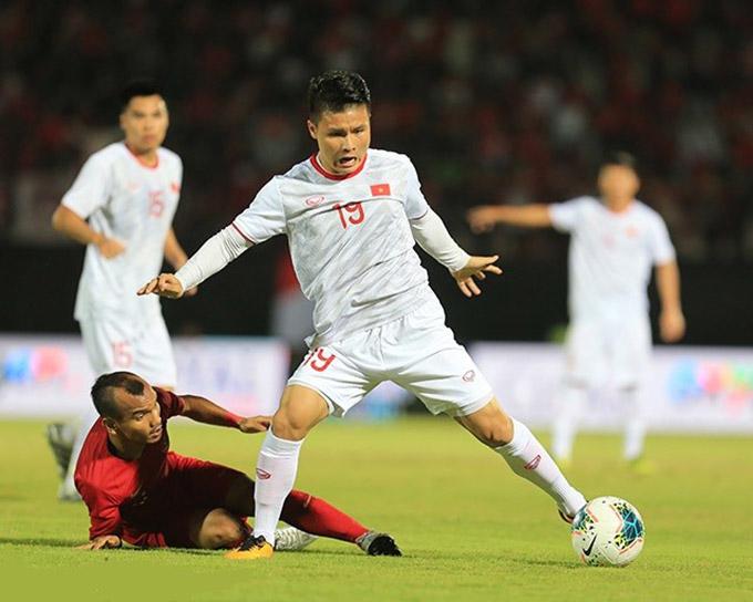 Việt Nam từng thắng đậm 3-1 Indonesia ngay trên sân đối thủ