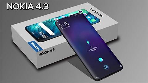 Nokia 4.3 thiết kế tuyệt đẹp, chạy Android 10, giá bán siêu rẻ - sắp trình làng
