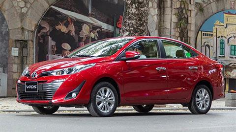 Toyota Vios 2020 giảm giá kịch sàn xuống ngang Hyundai Accent, đe nẹt Honda City, Kia Soluto