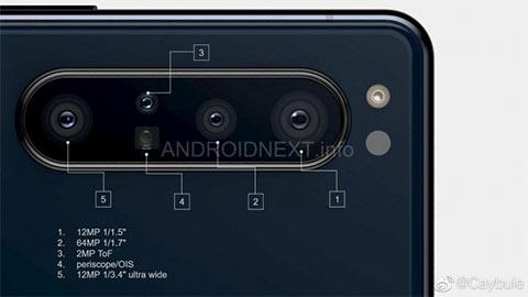 Sony Xperia 1.1 lộ diện với cụm camera 5 ống kính siêu ngầu, khiến các fan phát cuồng