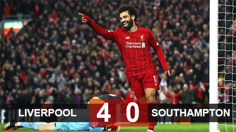 Liverpool 4-0 Southampton: Vắng Mane đã có Salah