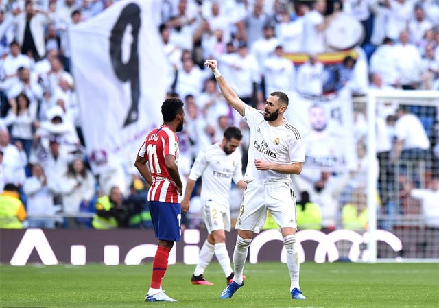 Benzema ghi bàn thắng duy nhất của trận đấu