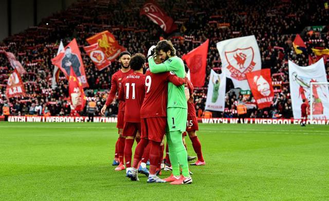 Liverpool đang tiến gần tới chức vô địch Ngoại hạng Anh 2019/20