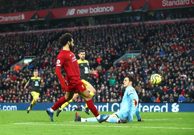 Được thi đấu ở Anfiled như tiếp thêm động lực cho Salah tỏa sáng