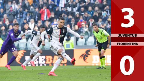 Juventus 3-0 Fiorentina, 02/02/2020