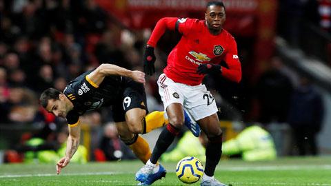 Wan-Bissaka đã chơi tốt trong trận gặp Wolves vừa qua