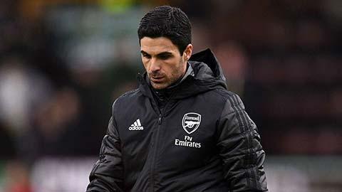 Arteta thiết lập kỷ lục tệ nhất của Arsenal sau... 107 năm