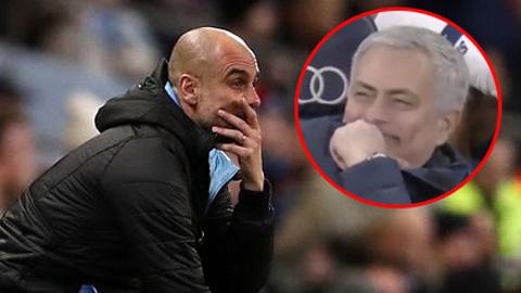 Tottenham đánh bại Man City: Mourinho cười nhẹ một phát, Pep tan nát con tim