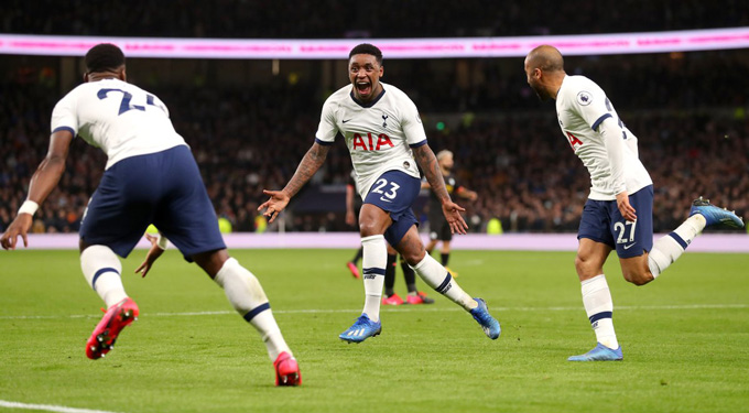 Bergwijn mở tỷ số đầy bất ngờ cho Tottenham