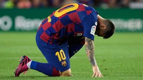 Barca đang mạo hiểm với chấn thương dai dẳng của Messi