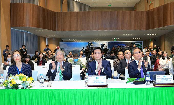 Các thành viên trong Ban lãnh đạo Bamboo Airways - Ảnh: Đức Cường