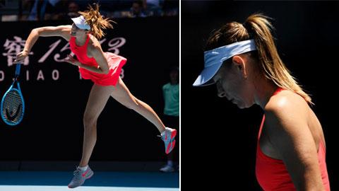 Sharapova rớt xuống vị trí 369 thế giới