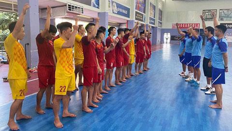 ĐT futsal Việt Nam vẫn sang Tây Ban Nha tập huấn