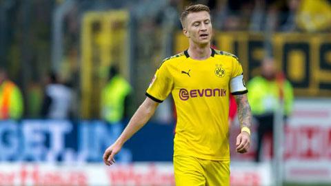 Dortmund mất thủ lĩnh tinh thần Marco Reus ở đại chiến PSG