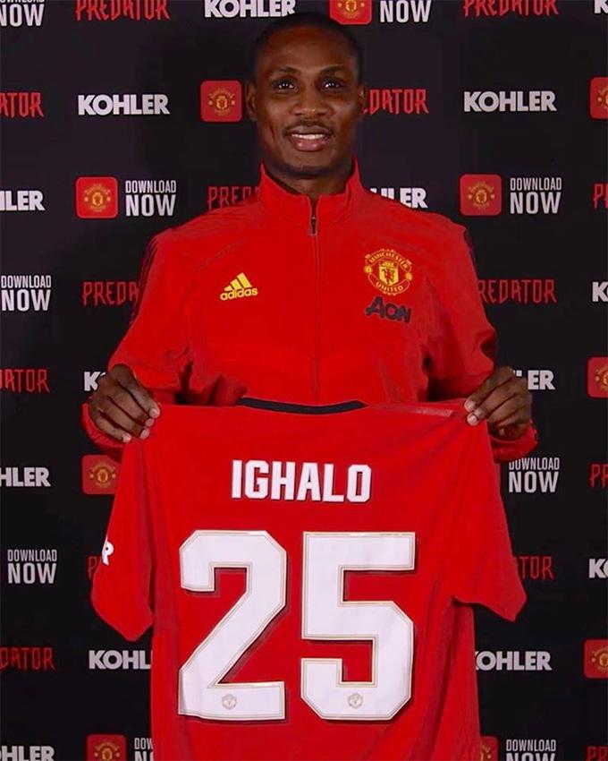 Ighalo sẽ đá cho M.U trong 6 tháng