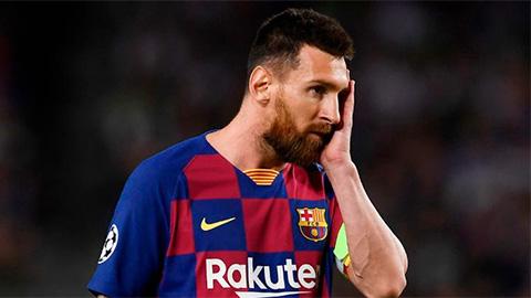 Messi 'đặt một chân' ra khỏi Barca sau vụ xung đột với Abidal
