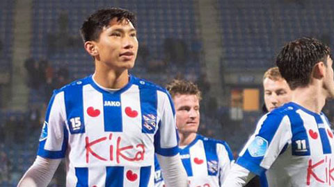 Văn Hậu chơi 90 phút trong chiến thắng đậm của đội trẻ Heerenveen