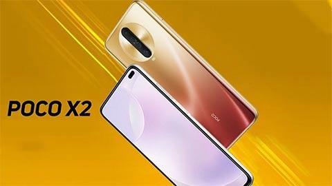 'Kẻ hủy diệt' Xiaomi Poco X2 ra mắt với Snap 730G, pin 4500mAh, giá hơn 5 triệu