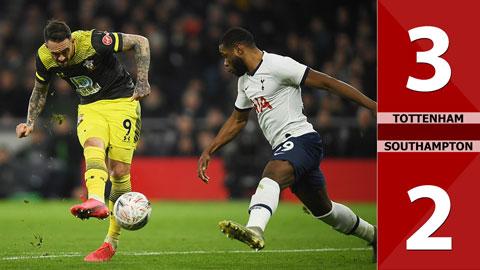 Tottenham 3-2 Southampton(Vòng 4 Cúp FA 2019/20)