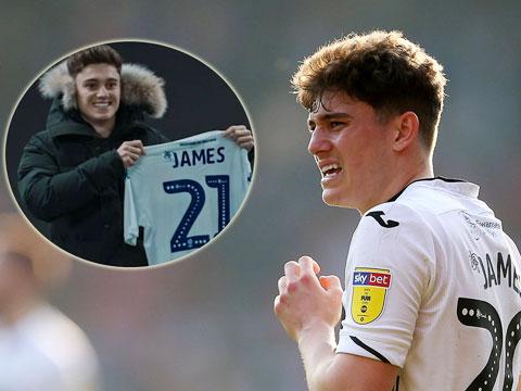 Daniel James tưởng đâu đã là người của Leeds, nhưng thương vụ đổ bể đúng vào phút chót TTCN mùa Đông 2019