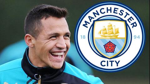 Alexis Sanchez hý hửng là người của Man City nhưng bị Arsenal lật kèo