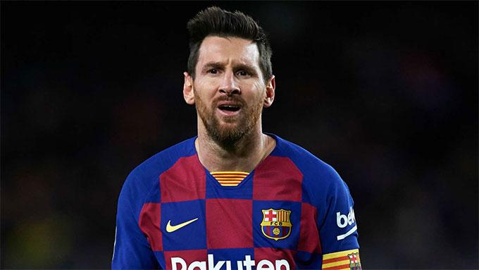 Messi bị cho là đã đặt 1 chân ra khỏi Barca