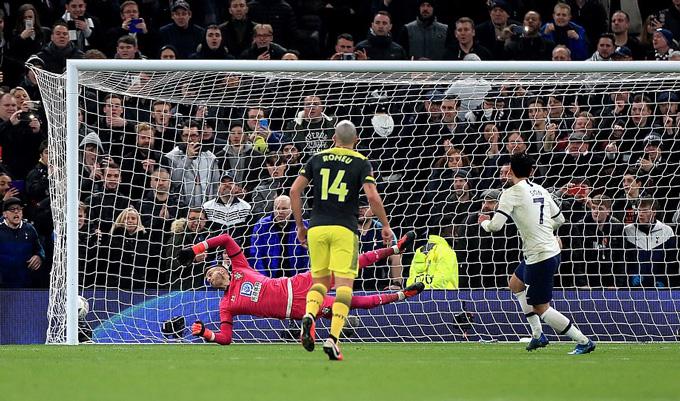 Tottenham và Southampton đã cống hiến cho người hâm mộ một trận cầu mãn nhãn