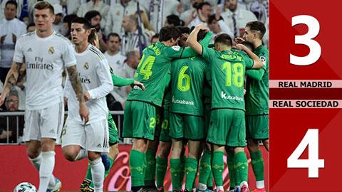Real Madrid 3-4 Real Sociedad(Tứ kết Cúp Nhà Vua TBN 2019/20)