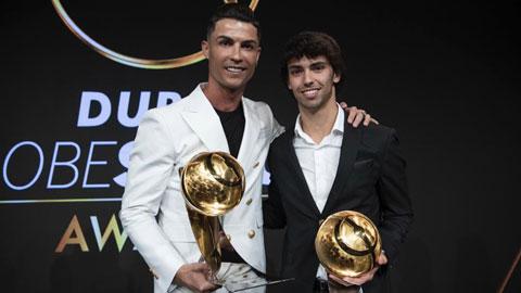 Joao Felix bị 'ngợp' khi lần đầu chạm mặt Ronaldo