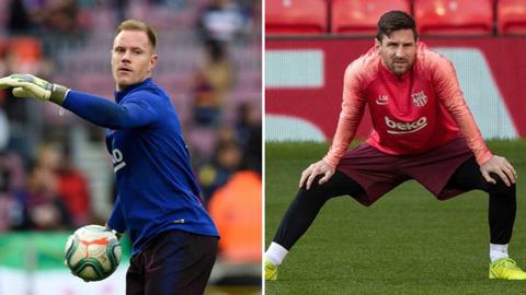 Messi gây gổ với Ter Stegen trong buổi tập, dấy lên nghi ngờ sang Man City