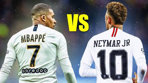 Cùng là trụ cột nhưng Neymar nhận lương gần gấp đôi Mbappe