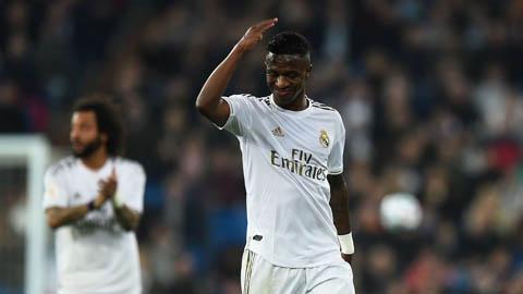 Vinicius Junior nói không với PSG, quyết ở lại Real Madrid
