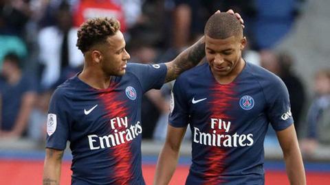 Neymar và Mbappe đang là linh hồn trong lối chơi của PSG ở mùa giải này