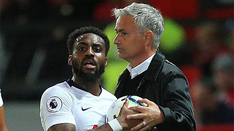 Danny Rose trách móc cách dụng quân của Mourinho