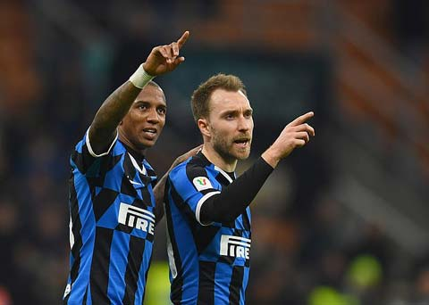 Inter đang chơi rất hay cùng với những cựu bình Premier League