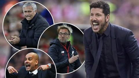 Top HLV lương cao nhất thế giới: Simeone gấp đôi Pep, Mourinho và Klopp