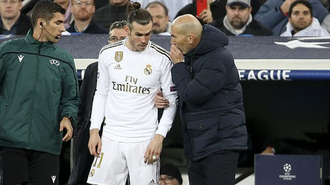 Zidane tha thứ cho Bale, triệu tập trở lại đội hình Real