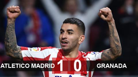 Atletico 1-0 Granada: Chen chân vào Top 4