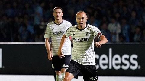 Muốn nối lại tình xưa với Iniesta, Barca nhận cái kết đắng