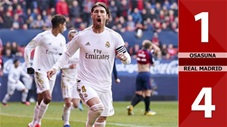 Osasuna 1-4 Real Madrid(Vòng 22 La Liga 2019/20)
