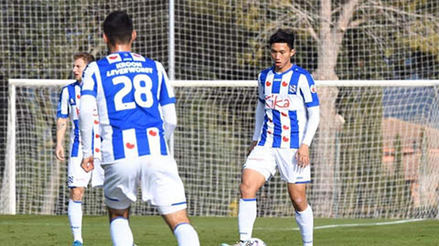 Văn Hậu chơi 90 phút trong chiến thắng của Jong Heerenveen