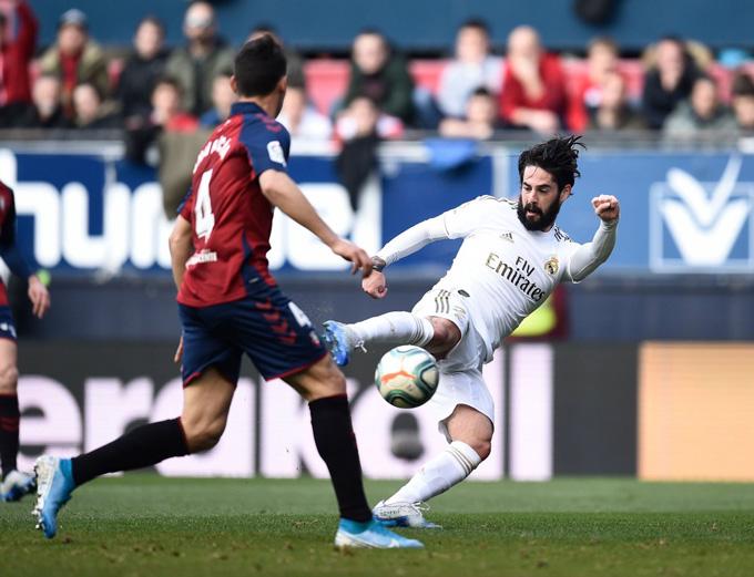Isco là cầu thủ chơi hay nhất trận và cũng là người ghi bàn gỡ hòa mở màn cho cuộc lội ngược dòng của Real
